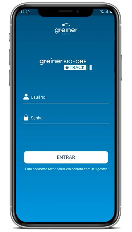 App Greiner Bio-One eTrack